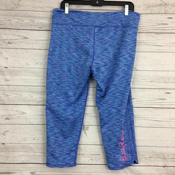 18cedc1b16 Lilly Pulitzer Pants | Luxletic Weekender Crop Space Dye | Poshmark